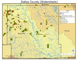 Dallas Zip Code Map by Mmp Maps Iowa Cci