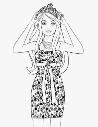 barbie free printable coloring pages coloring filminspector