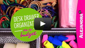 Organizing Store Video Desk Drawer Organization On A Budget Part 3 Of 4 Dollar