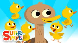 five little ducks kids songs super simple songs youtube