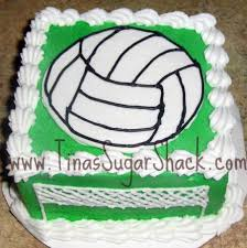16 best volley ball cake images on pinterest volleyball cakes