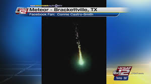 Meteor Shower Lights Meteor Shower Lights Up San Antonio U0027s Sky