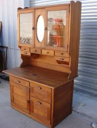 Always Wanted One Like This Golden Oak Antique Hoosier Cabinet
