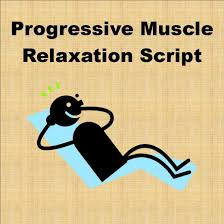 progressive muscle relaxation script relaxation scripts muscle