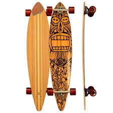 pintail tiki man longboards by bamboo skateboards buygreen com