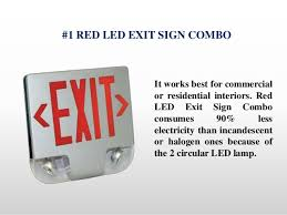exit emergency light combo what are the 5 most popular emergency light exit sign combo units