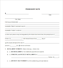 installment promissory note template free promissory notes discharge debt the promissory note part 1 of