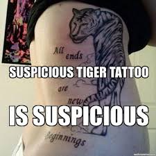 Meme Tattoo - funny tattoo memes and pictures