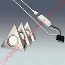 spot triangle cuisine kit spots led triangles achat vente de led pour cuisine