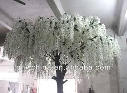 artificial white wisteria tree sell buy big fiberglass trunk for