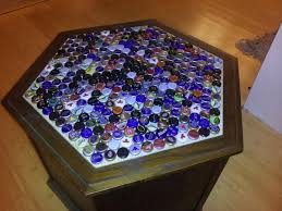 beer cap table top diy beer cap table brobility