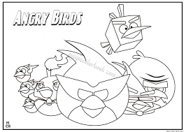 tweety bird coloring pages angry bird coloring pages 04