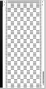 49 best punch card images on fair isles filet crochet