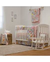 Enchanted Convertible Crib Deal On Lolli Living Enchanted Garden 4 Crib Bedding