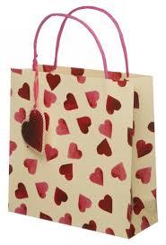 gift bags bridgewater hearts medium gift bag whsmith