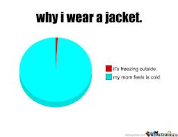 Meme Jacket - why i wear a jacket by richandhot meme center