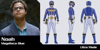 noah carver megaforce blue ranger power rangers central