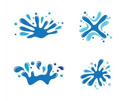 water splash logo template vector baixar vetores premium