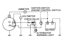 alternator wiring diagram omc cobra alternator wiring diagram