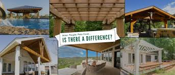 an arbor a pergola a patio cover is there a difference
