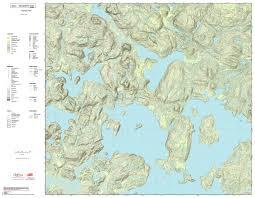 Algonquin Map Printed Custom Topographic Maps Trakmaps
