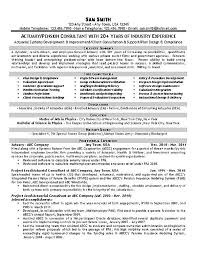 Latest Resume Samples For Experienced by Example Resume It Software Engineer Resume Sample Qa Analyst