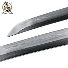 munetoshi water dragon handmade wakizashi differentially hardened