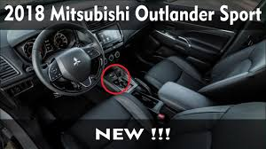 outlander mitsubishi 2018 new 2018 mitsubishi outlander sport gets a mild makeover youtube