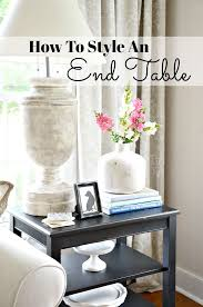 HOW TO STYLE AN END TABLE LIKE A PRO