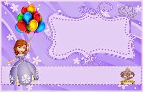 free birthday invitations sofia the birthday invitations printable sofia the free