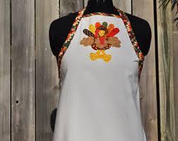 thanksgiving apron etsy