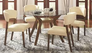 paxton round glass dining room set from coaster 122180 cb48rd