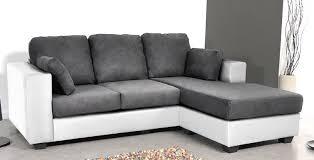 canap d angle blanc et gris canapé d angle réversible bi matière blanc gris hudson lestendances fr