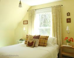 Yellow Bedroom Lemon Color With Green Paints Wall Home Combo