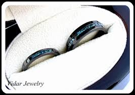 unique matching wedding bands his and hers unique wedding band sets his and hers best of his and black