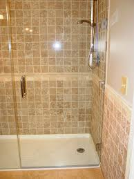 bathtubs chic replacing bathtub with shower pan 75 step in