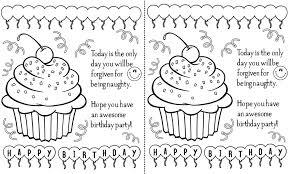 printable birthday card decorations free printable black and white happy birthday cards