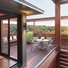 Rooftop Deck Design by 20 Stunning Outdoor Hangouts And Decks With A Forest View U2013 Home Info