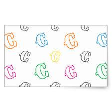 decorative letter stickers zazzle