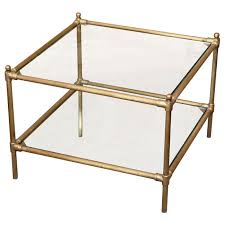brass and glass end tables latest brass and glass coffee table english georgian america brass