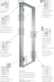 Barn Door Frame by Door Framing Sizes U0026 Bi Fold Door Rough Opening Framing Diagram