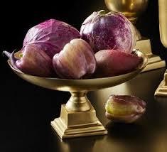 Pedestal Bowls For Centerpieces Amazon Com Serene Spaces Living Gold Pedestal Bowl Add Fruit Or