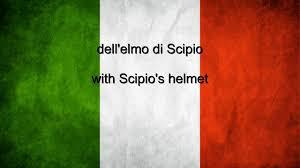 Italian And Mexican Flag Italy National Anthem Italian U0026 English Lyrics Youtube