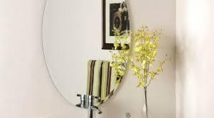 bathroom mirrors frameless phenomenal large custom oval bathroom wall mirrors oval bathroom