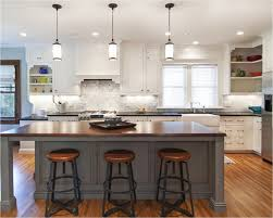 White Kitchens With Islands by White Kitchen Island Lighting Cozy And Inviting Kitchen Island