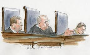 courtroom sketch artist art lien new hampshire public radio