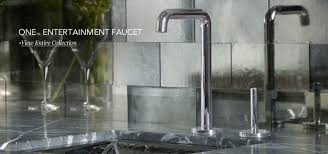 one kitchen faucet kallista finely crafted engineered for performance kitchen