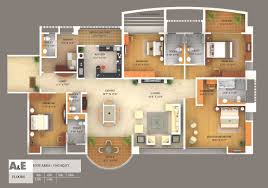 simple house plan with 5 bedrooms 3d images home design maker