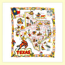 Texas Map Images Texas Map Towel Red And White Kitchen Company