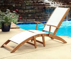 Outdoor Wood Chaise Lounge Sleek Outdoor Chaise Lounge Patio U0026 Outdoor Discount Outdoor